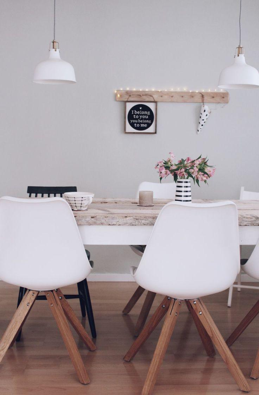 DIY Esstisch selber bauen -Tisch aus Holz selber bauen - Diy Möbel