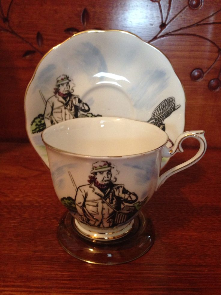 Royal Albert - Grass Widow Fishing Series. No 2 in a set of six. Researched value $29.99