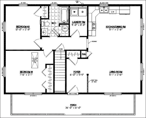 500 best barndominium floor plans images on pinterest for 40x40 house floor plans