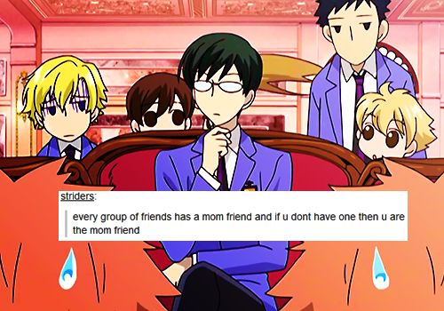 Ouran High School Host Club | Tumblr Text Posts Hah that's Charlene every time
