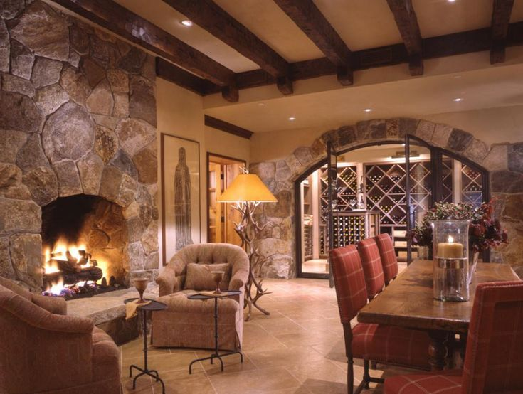 Wonderful Fireplaces In The Dining Room For Cozy And Warm: 109 Best Basement & Home Theater Ideas Images On Pinterest