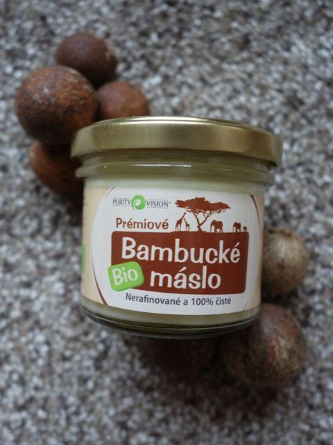 All my cosmetics: Bambucké máslo