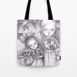 Subrina and Rosabel Tote Bag