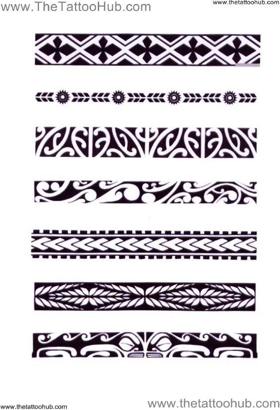 Polynesian Arm Bands | ... Tattoo Hub: Tattoo`s by Type » Polynesian Tribal » polynesian: