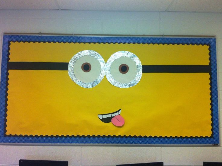 minion classroom theme | My Minion bulletin board