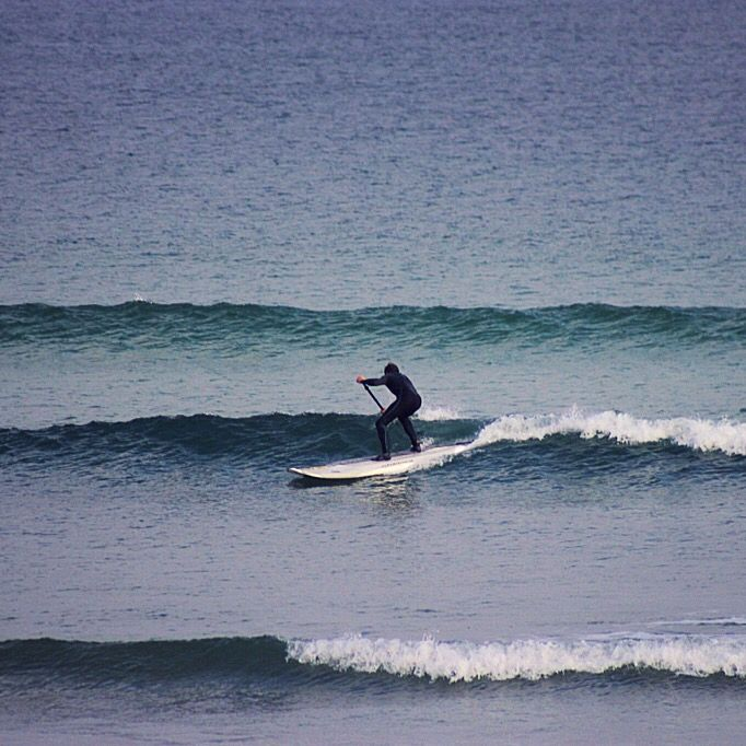 #sporadessup #sup #surfing at #marblehill #Donegal #Ireland