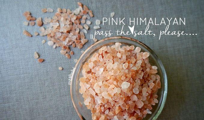Pink Himalayan Sea Salt…