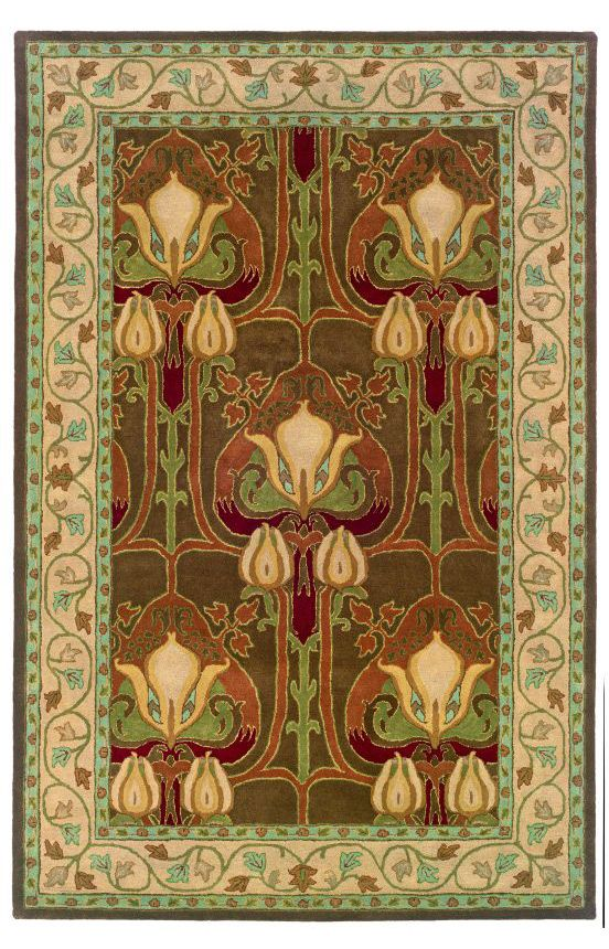 Perfect L.R. Resources Inc. Arts And Crafts LR41206 Brown Rug Http://www.