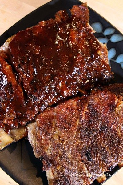 cooking ribs in oven