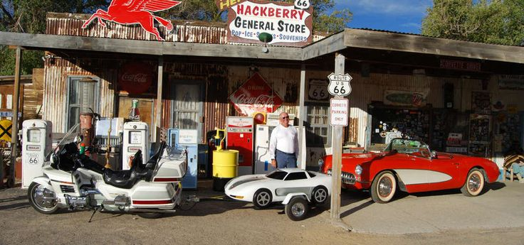 It looks like a classic Route 66 motel and diner at first, but what's under it will blow you away!