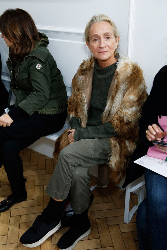 Vogue editor Lucinda Chambers inspires us to dress stylishly well into our 50s.