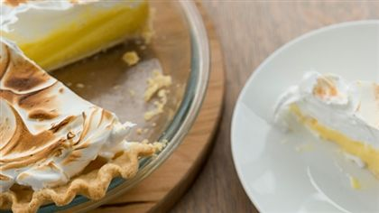 Tarte au citron à la meringue suisse de Mario Tessier