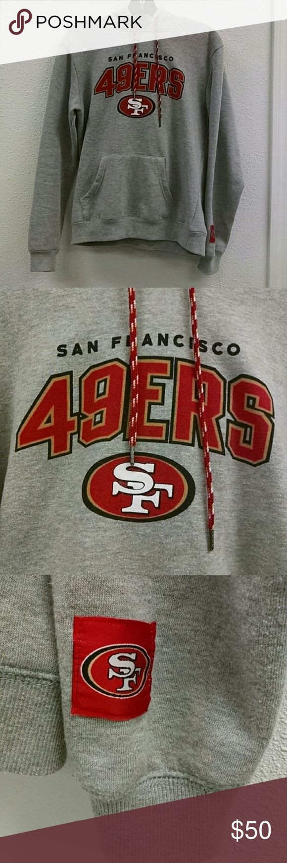 49ERS  NFL Gear Sweatshirt mens hoodie small NFL Gear 49ERS  men's hoodie sweatshirt size small. Hoodie is in excellent condition and football season is only a month away. Rep your team! NFL Gear Shirts Sweatshirts & Hoodies