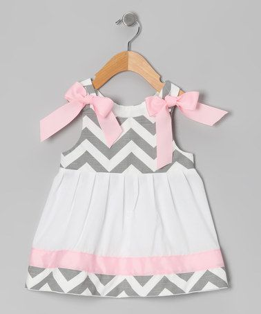 Another great find on #zulily! Gray Chevron Paisley Mae Jumper - Infant & Toddler by Caught Ya Lookin' #zulilyfinds