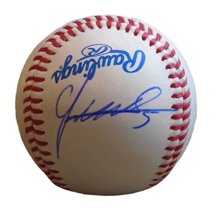 NY Mets Juan Uribe signed Rawlings ROLB leather baseball w/ proof photo.  Proof photo of Juan signing will be included with your purchase along with a COA issued from Southwestconnection-Memorabilia, guaranteeing the item to pass authentication services from PSA/DNA or JSA. Free USPS shipping. www.AutographedwithProof.com is your one stop for autographed collectibles from New York sports teams. Check back with us often, as we are always obtaining new items.