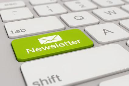 Et blogindlæg om udsendelse / tilmelding af nyhedsbreve fra en Webshop.