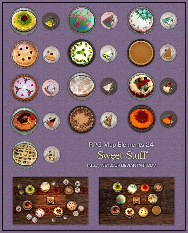 RPG Map Elements 24 by Neyjour