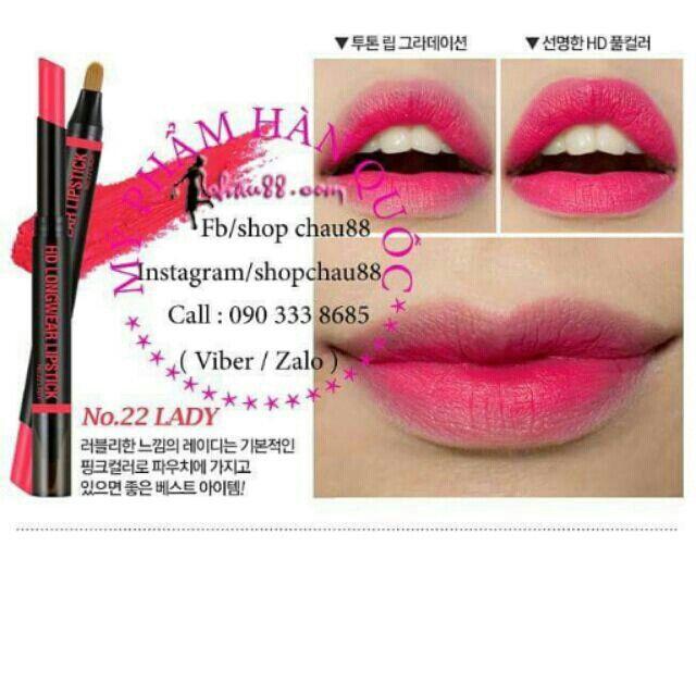 Son HD Longwear Lipstick #22 với giá ₫120.000 chỉ có trên Shopee! Mua ngay: https://shopee.vn/shopchau88/4976813 #ShopeeVN