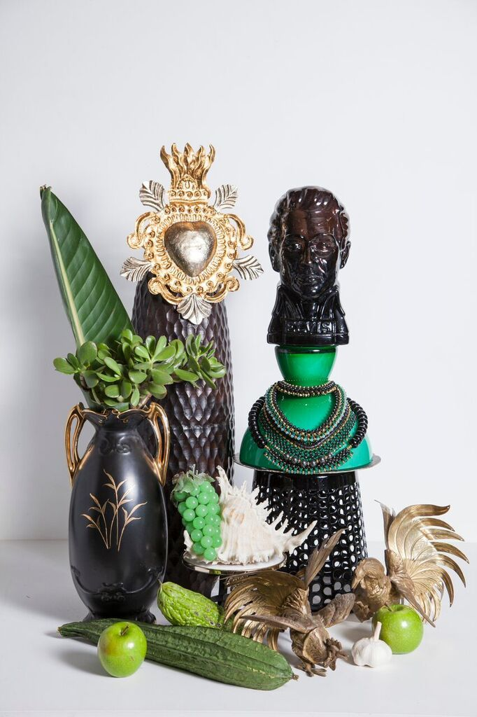 Bettina McILwraith   SOLLIS STYLE TRIBE TOTEMS. Green - The Revolutionary.