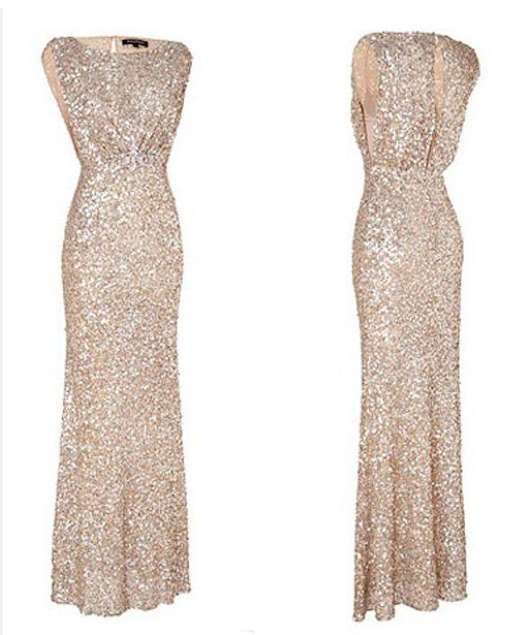 Preston Bailey Bride Ideas, Glittery Wedding Gown