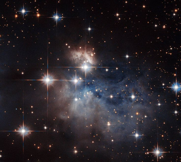 Hubble March 4, 2016 Hubble and a Stellar Fingerprint/ An emission-line star known as IRAS 12196-6300.
