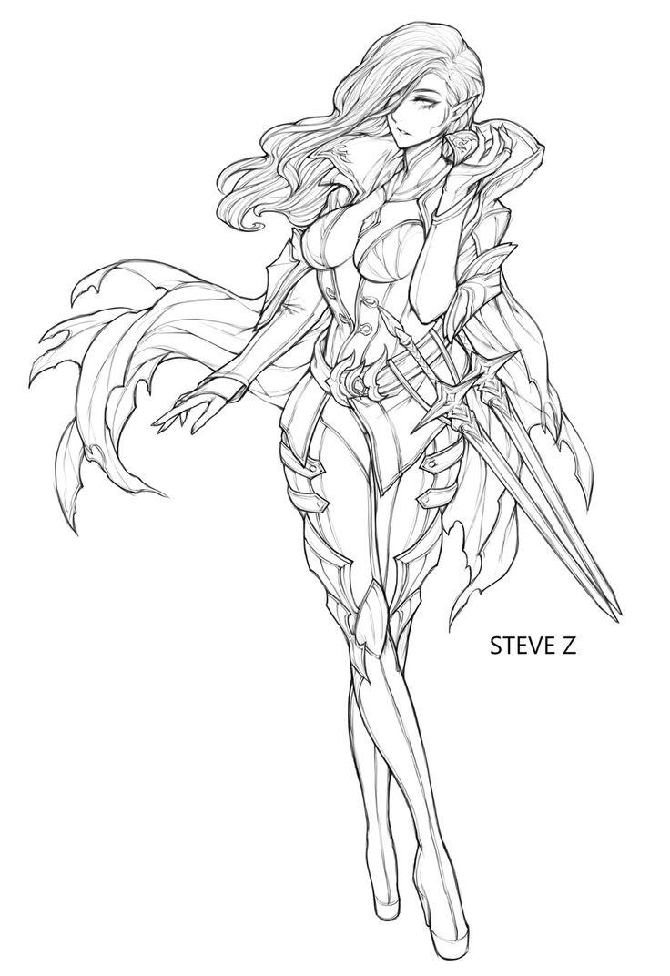 Artstation Velskud Steve Zheng Concept Art Characters