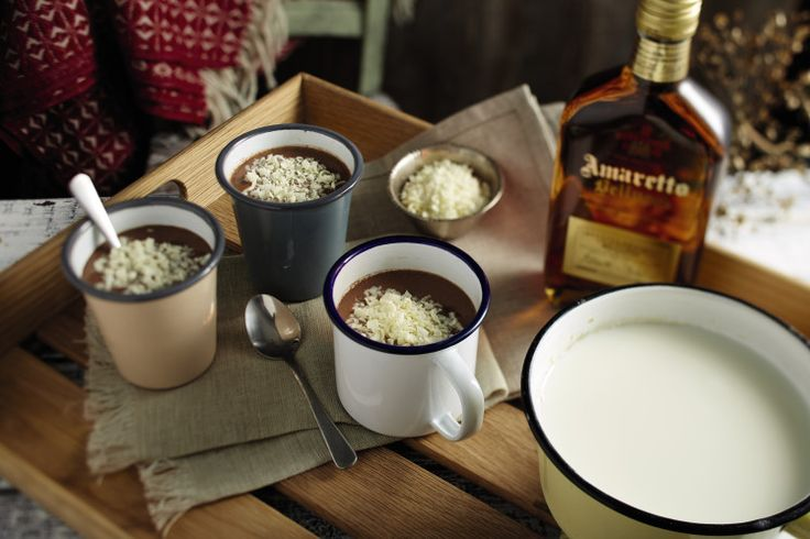 Enter: Amaretto Spiced Hot Chocolate. I know what you're thinking – hot chocolate is boring and often bland.  Well, not this one. If you use proper dark chocolate like the Spanish do, you end up with a cup of liquid heaven.