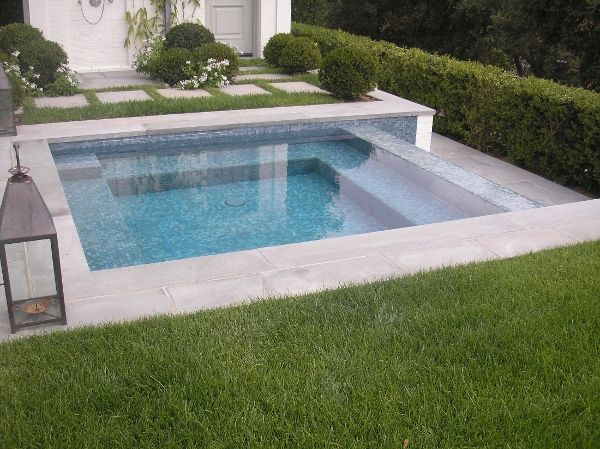 small pool by walker pools pinned to pool design by bask pool design