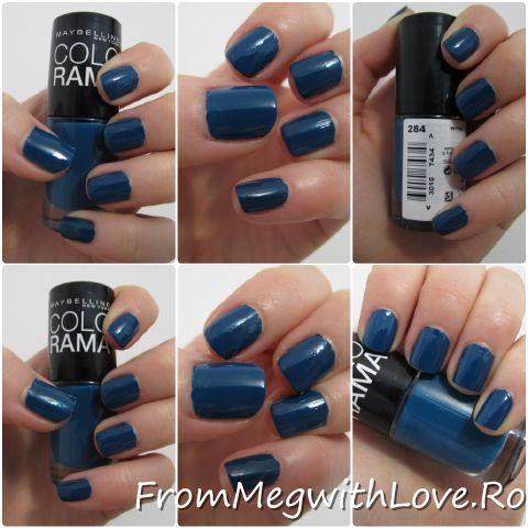 From Meg with Love Blog: Ojele saptamanii: Colorama 282 & 284 by Maybelline
