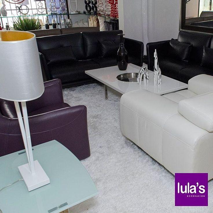 En #LulasDecoración encuentras los más variados diseños en salas. Un factor muy importante para el diseño de la sala es la elección del color, ya que del color depende en gran medida el estilo de decoración que se logrará dentro de esta estancia. ¡Visítanos! tel: 2684641  #interiordesign #home #style #decor #decoración #espacios #ambientes #decohogar #muebles #mobiliario #decoracioninteriores #comedor #sillas #hogar #diseño #homesweethome #cozy #habitaciones