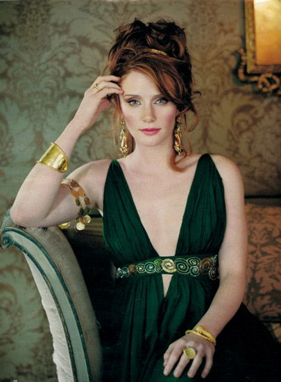 """Bryce Dallas Howard Such a talented and beautiful actress... it's in her genes - her Dad is Ron Howard (""""Opie"""" """"The Andy Grifith's Show & """"Richie Cunningham""""/ """"Happy Days""""), and her grandfather was Rance Howard, also an actor.   http://www.imdb.com/name/nm0397555/"""