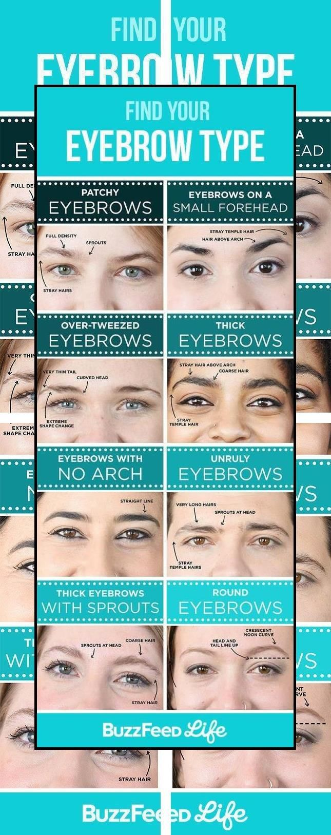 How To Pluck Eyebrows   Eyebrow Filling Products   Brow ...