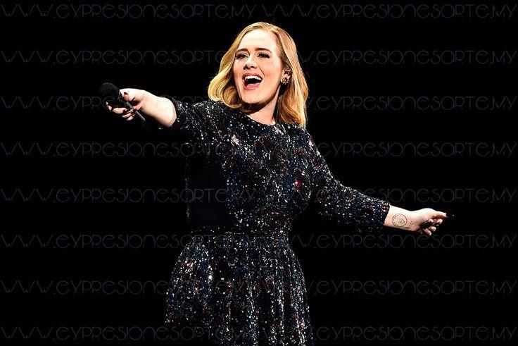Adele no quiere salir de gira nunca más   ExpresionEs Arte Digital