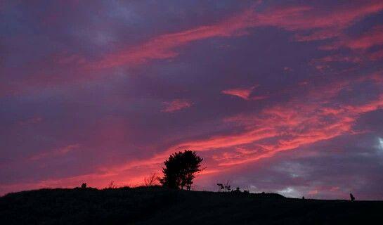 夕焼け―南小国の風景―