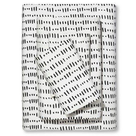Sheet Set Dotted Triangle (California King) - Nate Berkus™ : Target