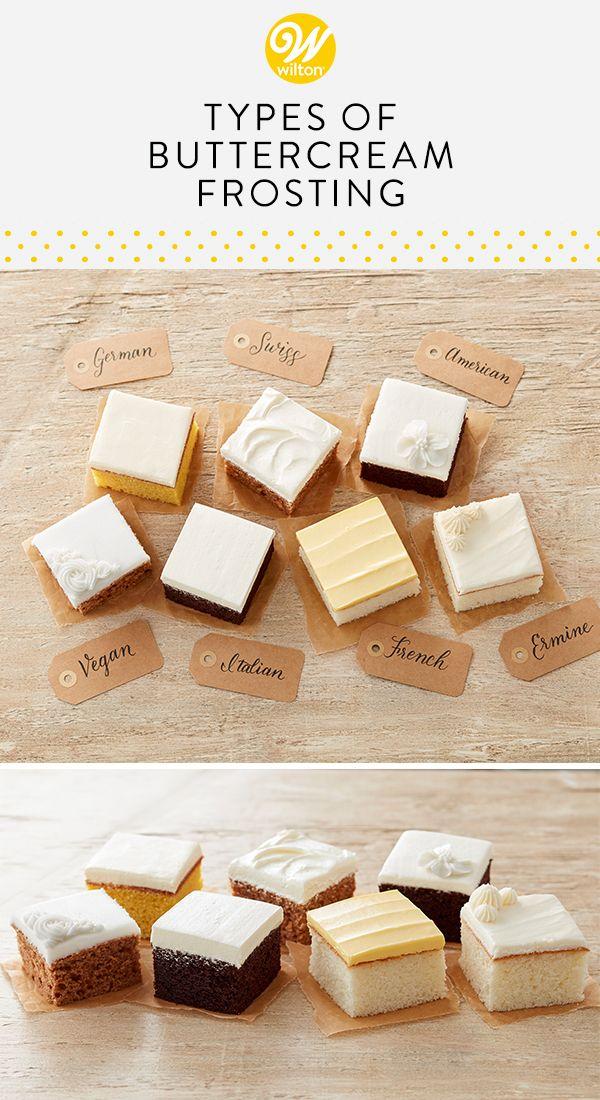 7 Types of Buttercream Frosting – Anna Handtmann