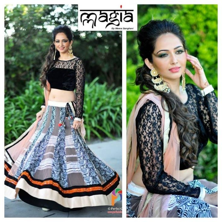 This Beautiful fusion Lehenga is perfect for any occasion..Say it Mehendi, Sangeet, Bridal Shower or a dance party..Modern into fusion look is perfect to bring out the inner you!