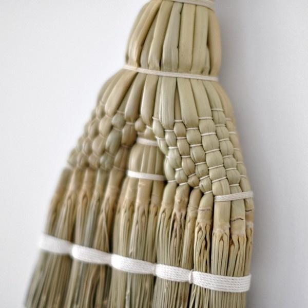 "broom  Balai Japonais Kake Busho - Puts in mind the ""Pointer Brooms"" from former Brit Guyana."