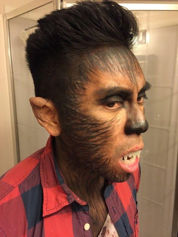 Female Werewolf Hairstyle Halloween Makeup Scary Wolf Halloween Costume Halloween Makeup