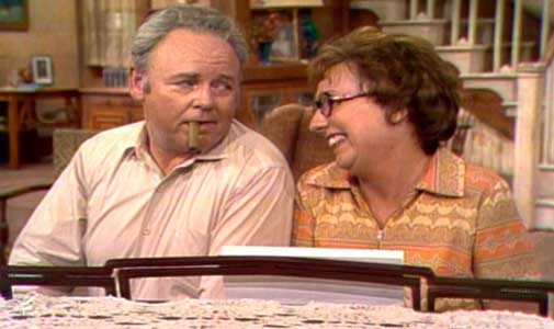 Archie and EdithArchie Bunker, Favorite Tv, Childhood Memories, Bing Image, Families Bunker, Favorite Book, Edith Bunker, Movie Favorite, Favorite Comedy