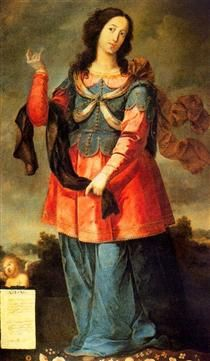 Abisag - Josefa de Obidos 1650. After a search for the most beautiful woman in the land, Abishag is chosen to be a helper and servant to King David in his old age. Among Abishag's duties is to lie next to him and keep him warm. David does not have sexual relations with her. This is decisive. If David was impotent he could no longer be king, as the Hebrews believed that the fertility of the soil and the general prosperity of the people were bound up with the fertility of the king.