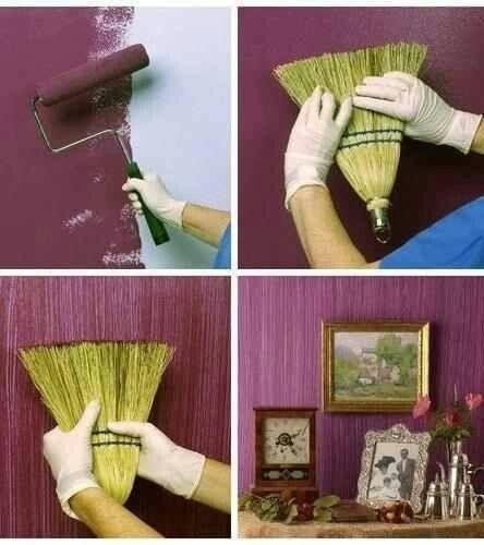 Gran idea para un cuarto !!