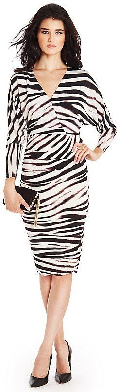 GUESS by Marciano Fierce Tiger-Print Dress on shopstyle.com
