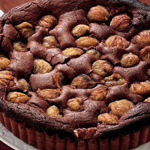 chocolate and chestnut cake