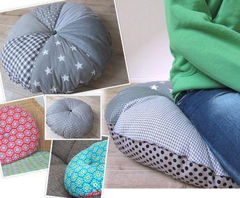 Wünscht Du Dir Ein Großes Bodenkissen Oder Ein Rundkissen Für Dein Sofa?  Möchtest Du Ein
