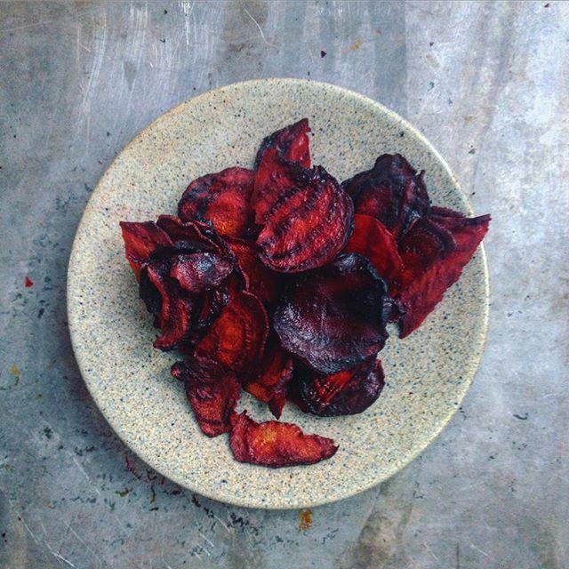 Řepové chipsy. Nejlepší homemade. 😻👌🏼