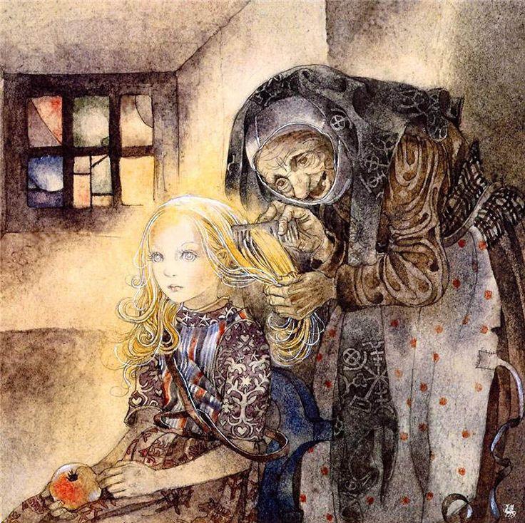 Snow White, by Sulamith Wülfing