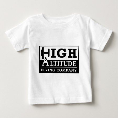 High Altitude Flying Company Logo Baby T-Shirt - tap, personalize, buy right now!