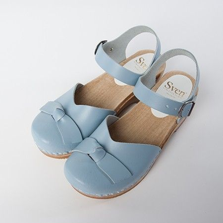 Bow Tie Clog - Bendable Clog - Low Heel - Sven Style # 130-63