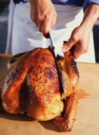This rotisserie turkey is coated in herbs and spices, and slow cooked on the grill. This will quickly become one your favorite ways to prepare turkey.